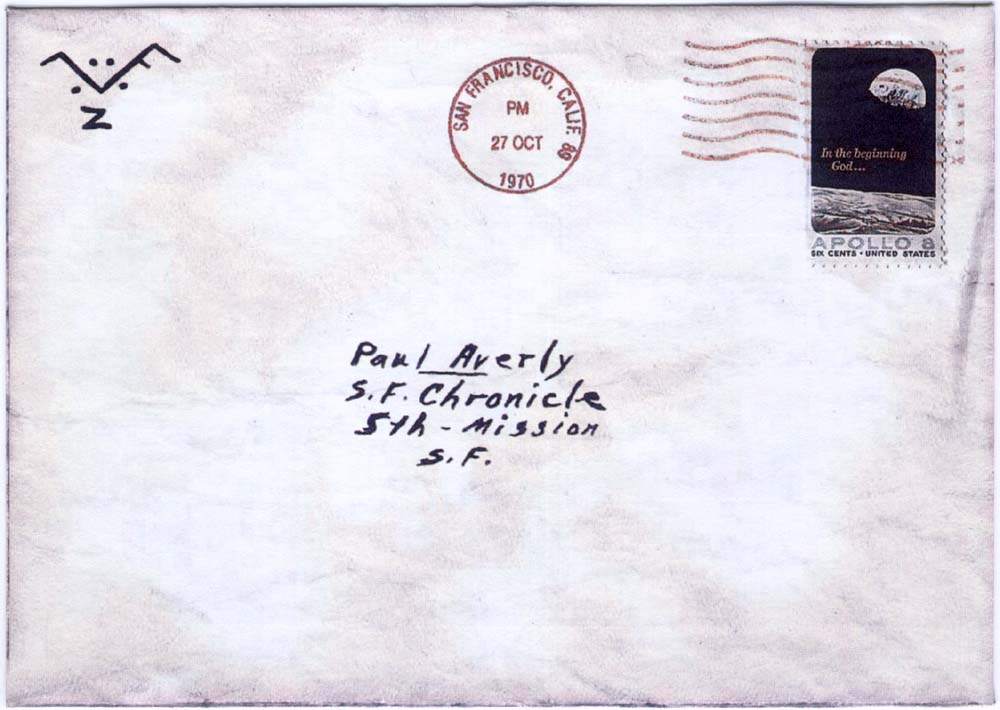 front of envelope 10-27-70